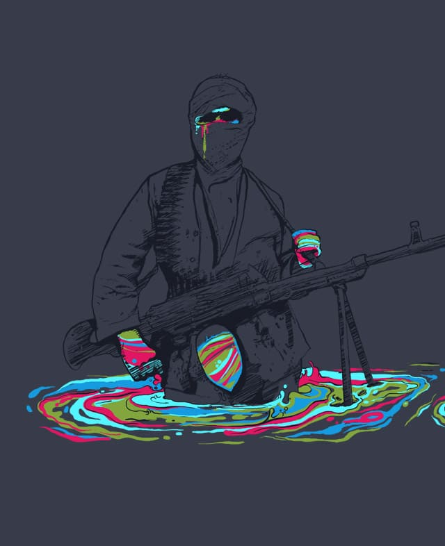 Color war by robsonborges on Threadless