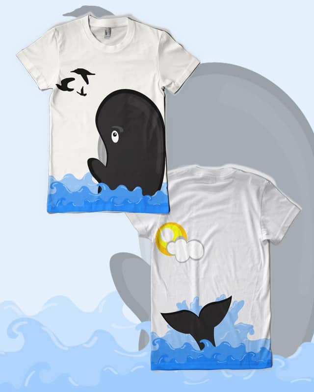 Free willy by leslienayibe on Threadless