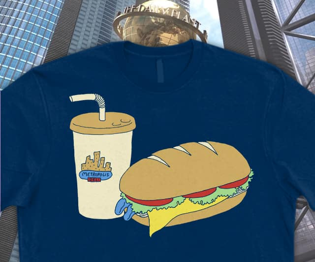 A Hero Ain't Nothin But a Sandwich by mj00 on Threadless