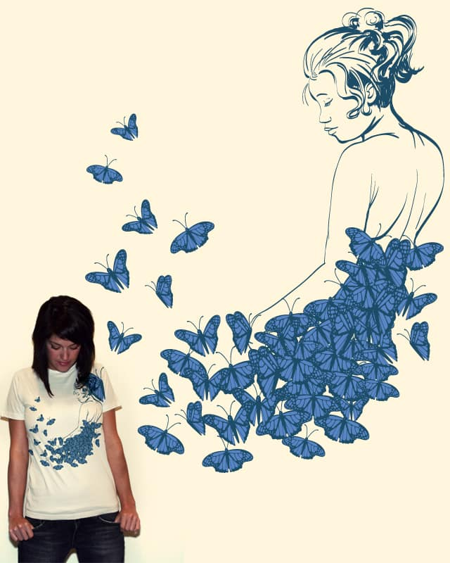 Made of butterflies by ReneeRivas on Threadless