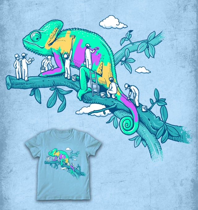 artificial camouflage by ben chen on Threadless