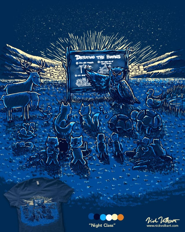Night Class by nickv47 on Threadless