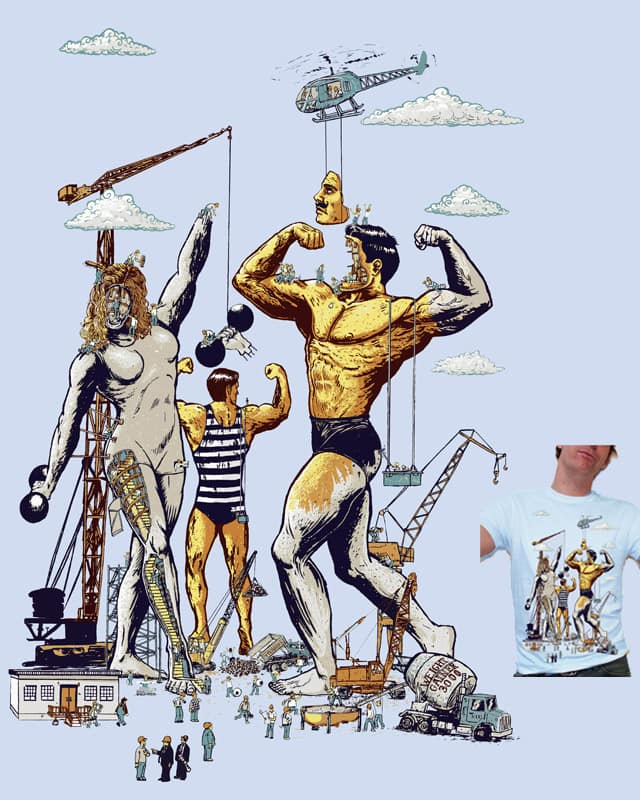 Body Builders by FRICKINAWESOME on Threadless