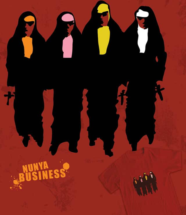 Nunya Business by wytrab8 on Threadless