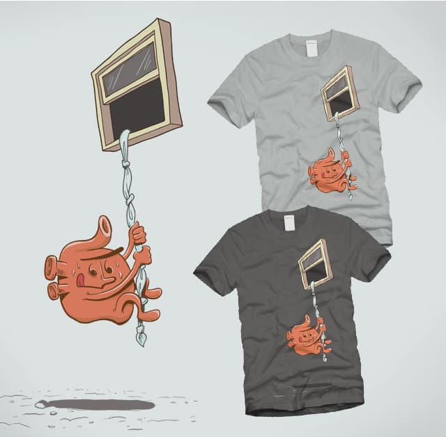 Restless Heart by CenturyofNoise on Threadless