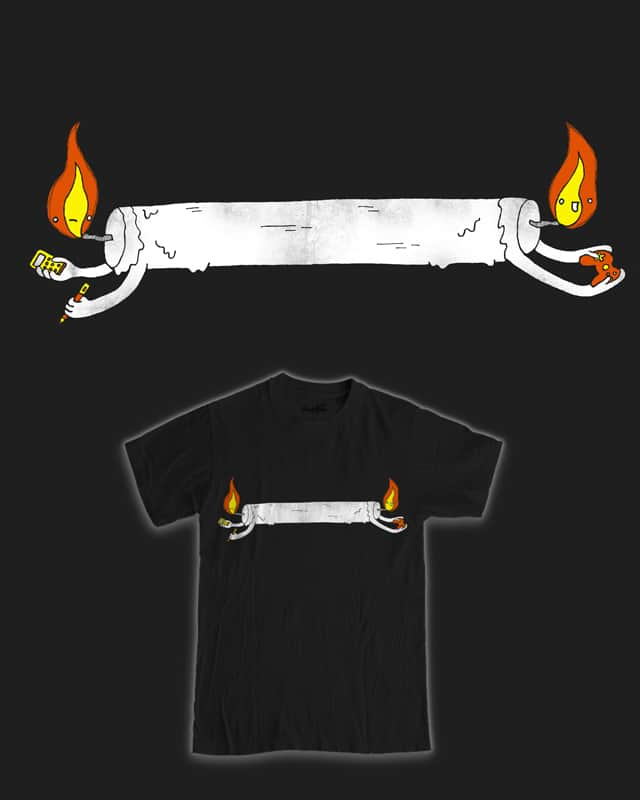 Candle burning at both ends by randyotter3000 on Threadless