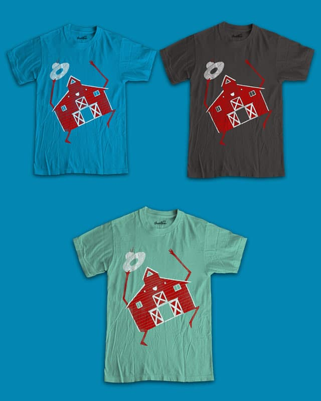 Barn dance by randyotter3000 on Threadless