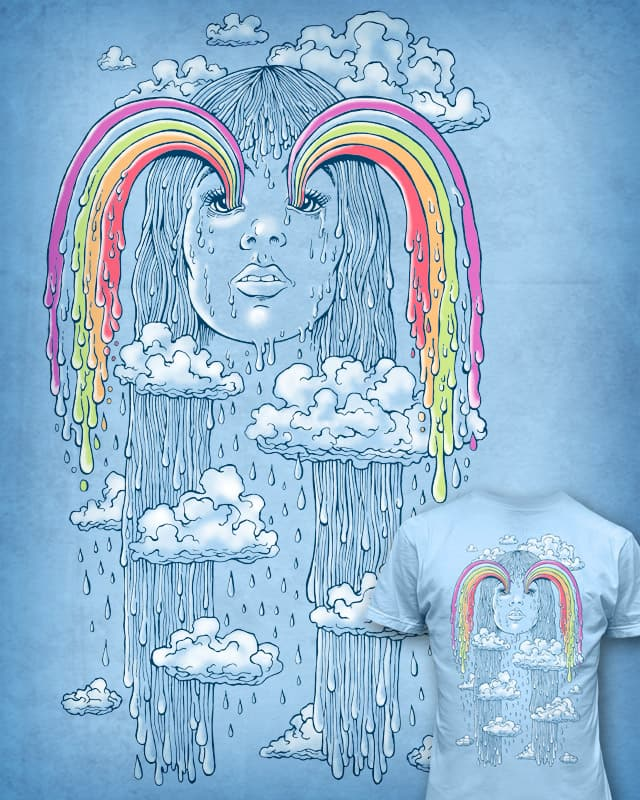 ... and the heaven wept rainbows by badbasilisk on Threadless
