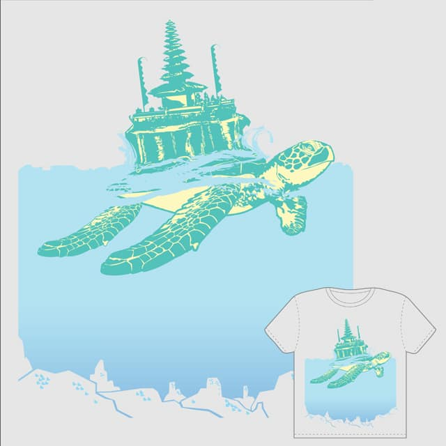 i for Bali. by myth survivor on Threadless