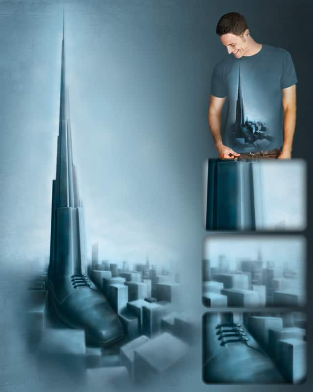 FOUNTAINHEAD by ilya yas on Threadless