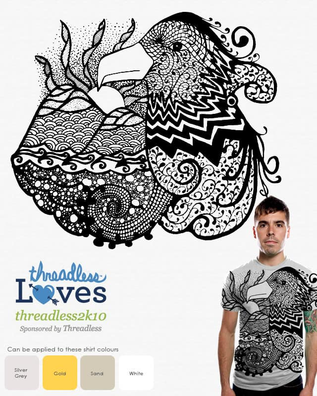A View of the Patterns in My Mind by arkanghel on Threadless