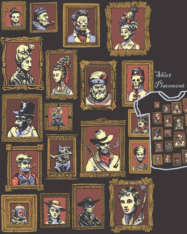 Persons of Interest by Escape Artist on Threadless