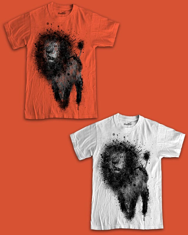 Lion by randyotter3000 on Threadless