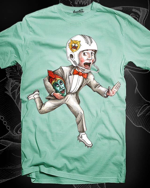 pee wee football by pjbrick7 on Threadless