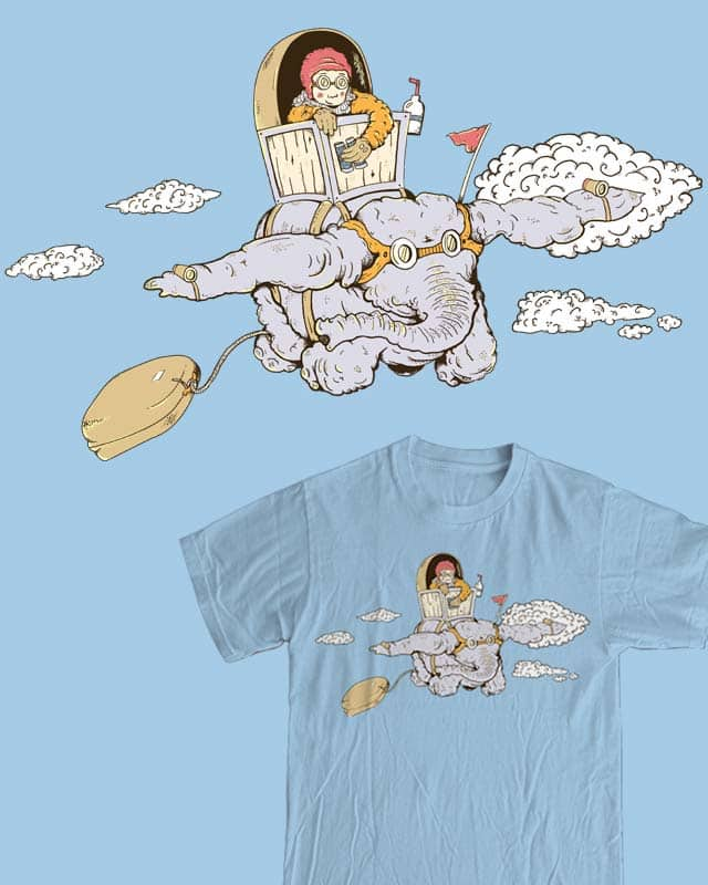 Elephant Express by Kuriko on Threadless
