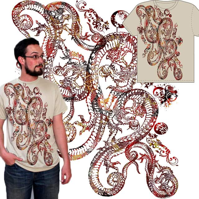 Enter the Dragon by Eligo on Threadless
