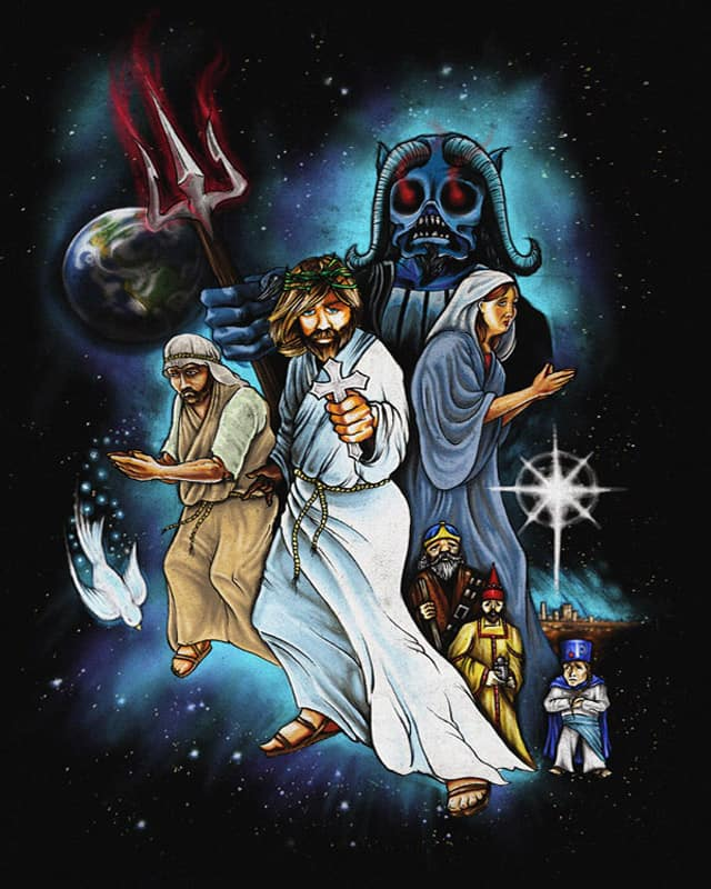 JESUS CHRIST SUPERSTAR....WARS by mark722 on Threadless