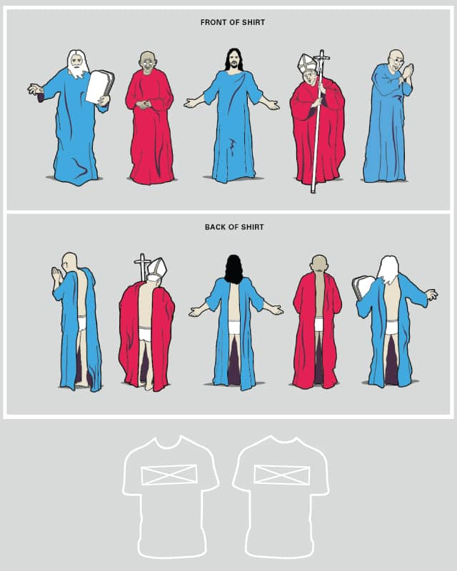 Famous Snuggie-Wearers Throughout History by davidfromdallas on Threadless