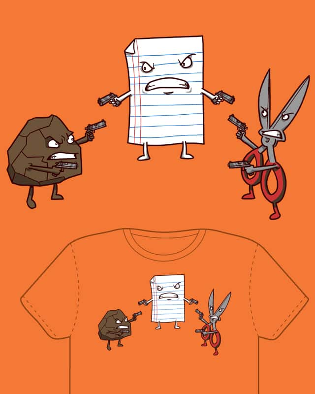 A Mexican Standoff by Splashed Ink on Threadless