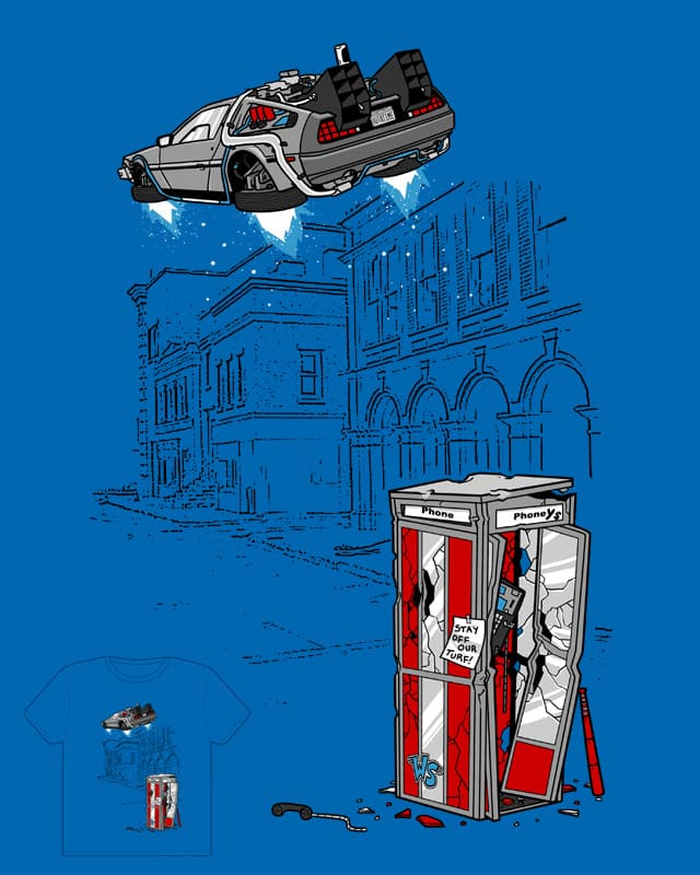 Time Traveling Turf War by Splashed Ink on Threadless