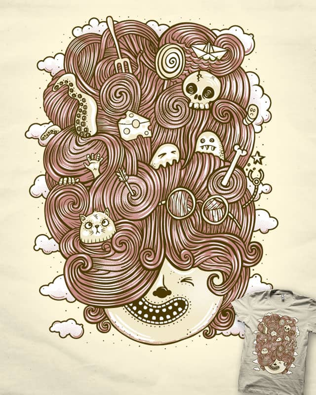 Crazy Hair Day by heavyhand on Threadless
