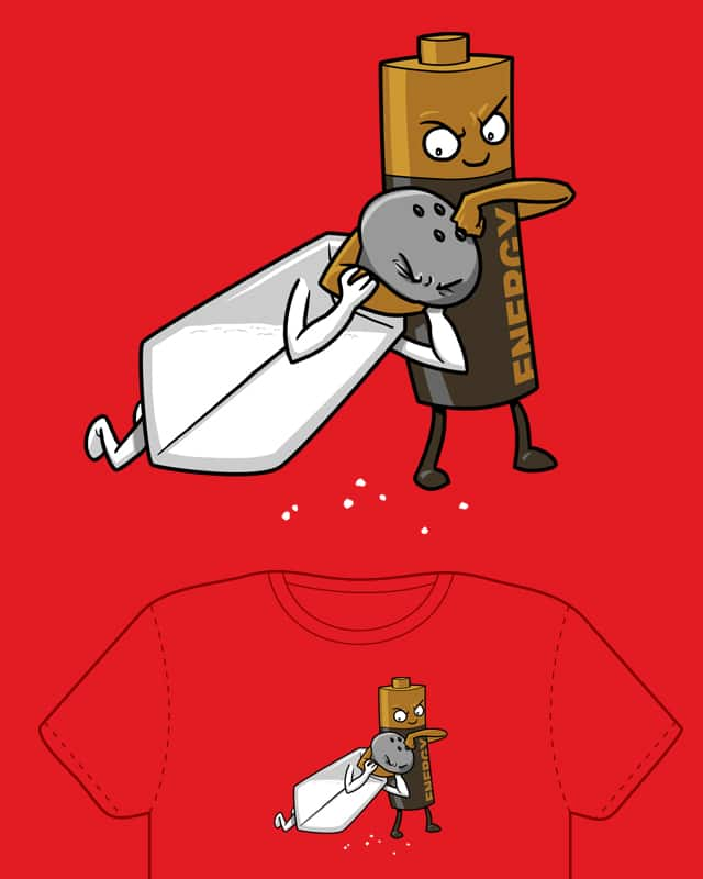 A Salt and Battery by Splashed Ink on Threadless