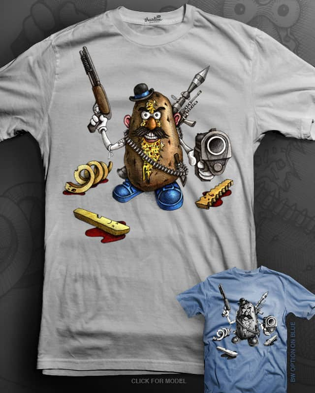Locked & Loaded Potato by pjbrick7 on Threadless