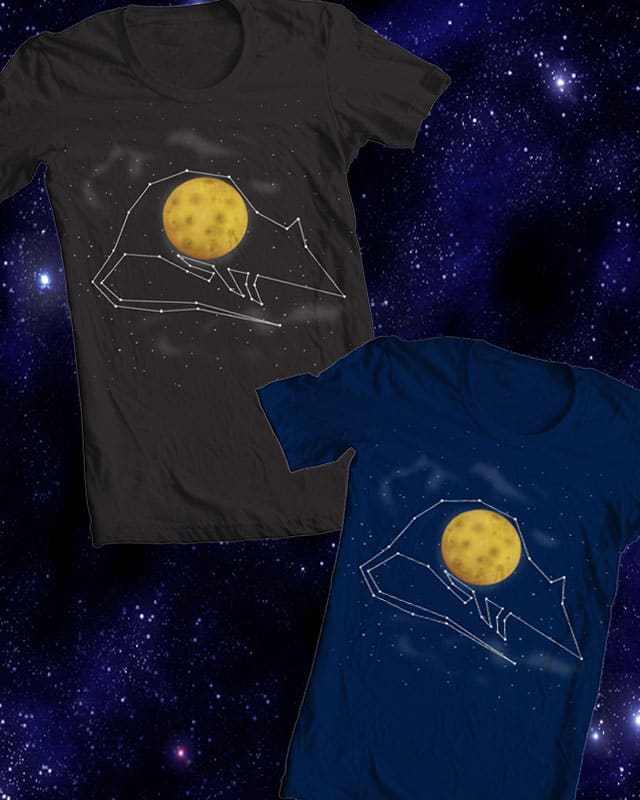 Full Moon by ArTrOcItY on Threadless