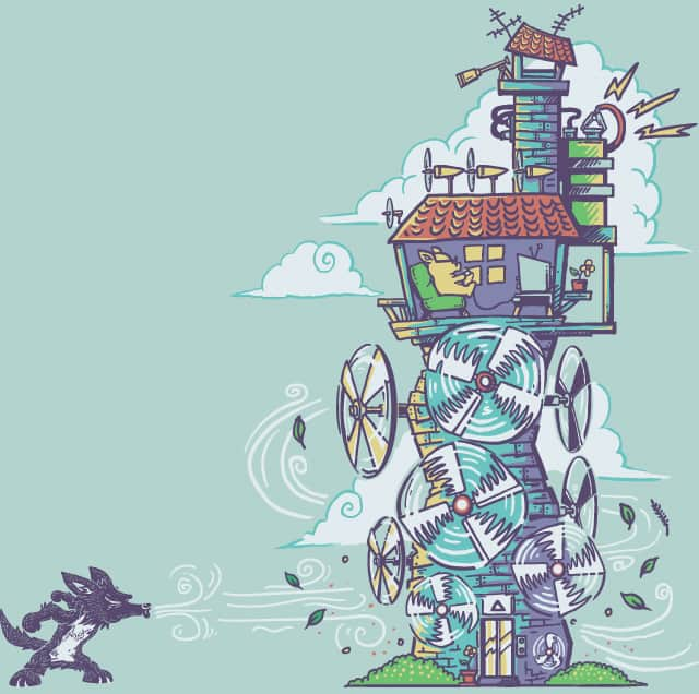 The Fourth Little Pig by Pakpandir on Threadless