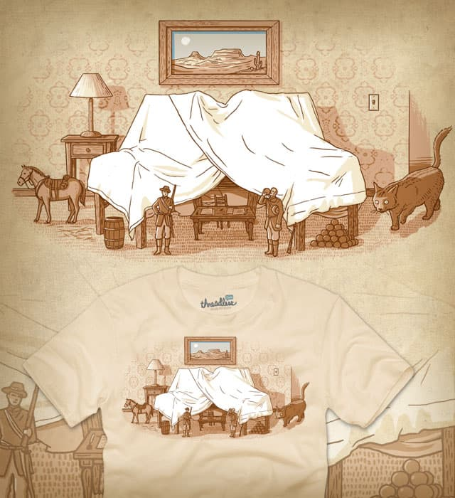 Massacre at Fort Family Room by TGWA on Threadless
