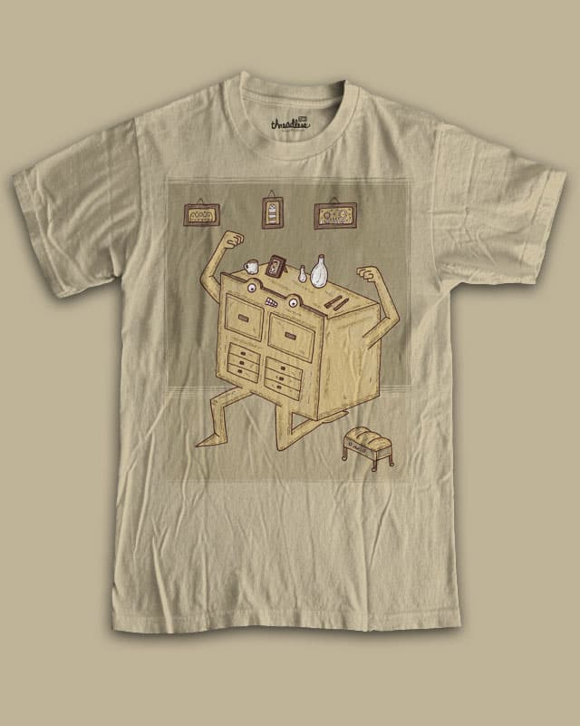 Chest of drawers by randyotter3000 on Threadless