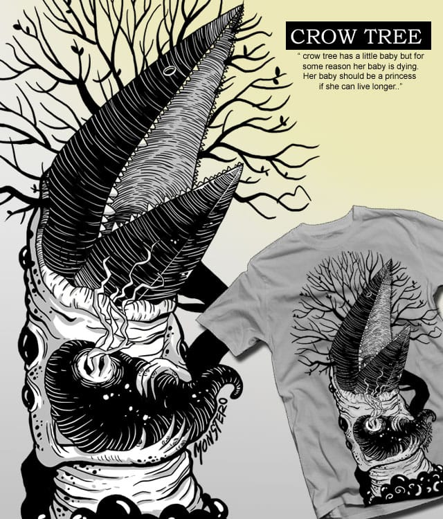 crow tree by monez04 on Threadless