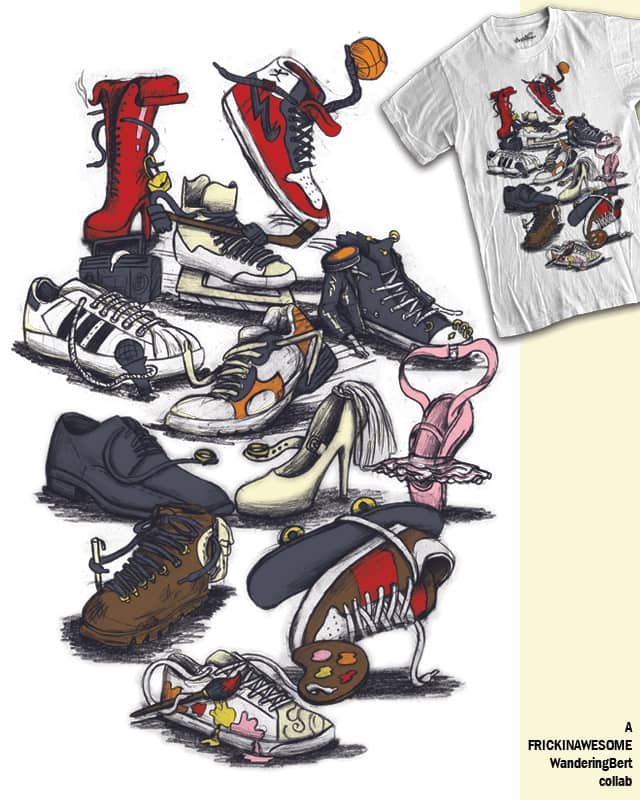 What Kind Of Shoe Are You? by FRICKINAWESOME on Threadless