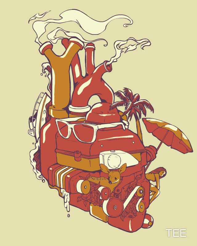 Summer Heart by huebucket on Threadless