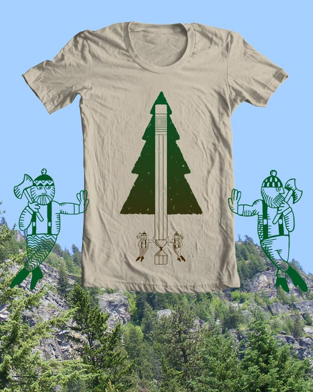 A Balancing Force by isawa on Threadless