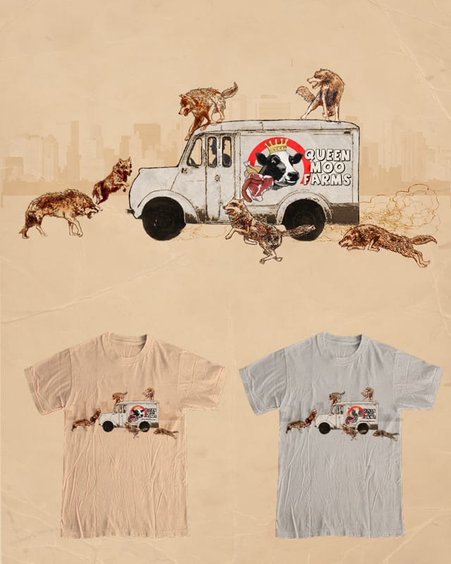 Urban Wolves Hunt in Packs by Ivantobealone on Threadless