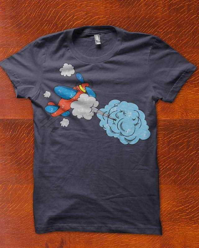 beat by weather by edgarscratch on Threadless