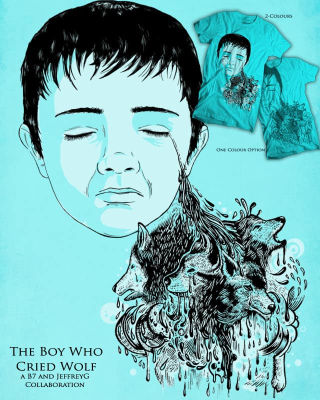 The Boy Who Cried Wolf by jeffreyg on Threadless