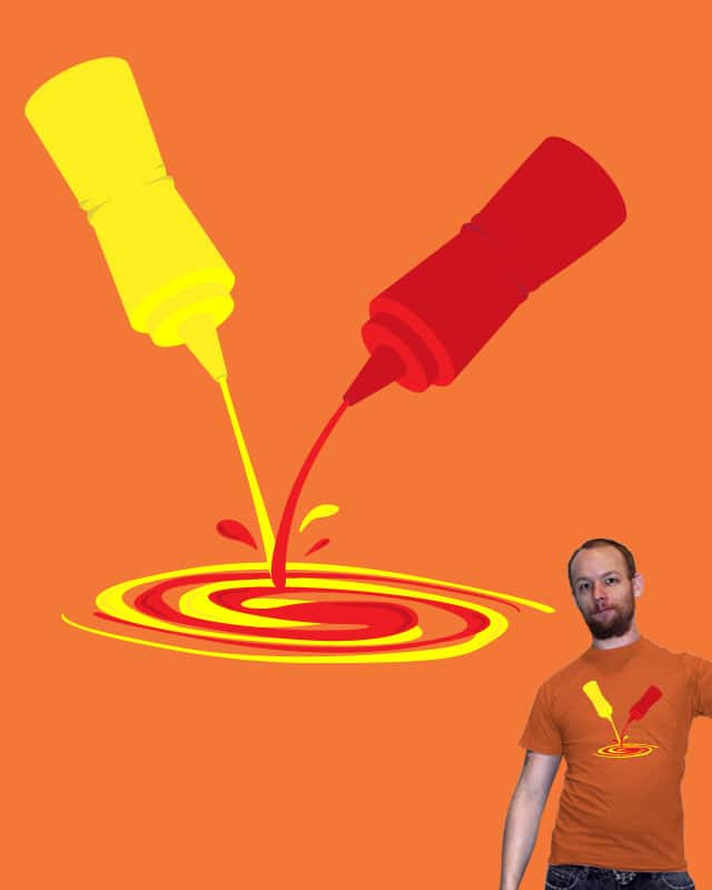 Mustard and Ketchup Make Orange by bestdangSK on Threadless
