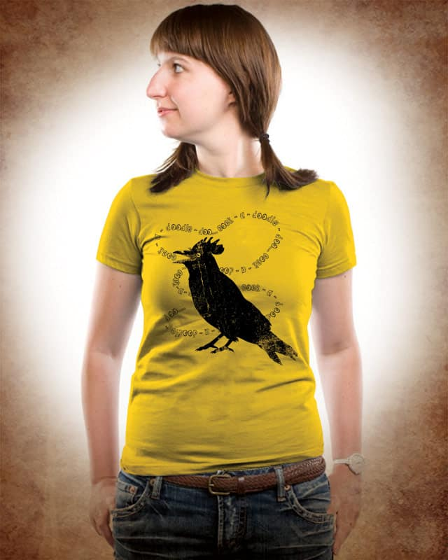 Cock Crow by kooky love on Threadless