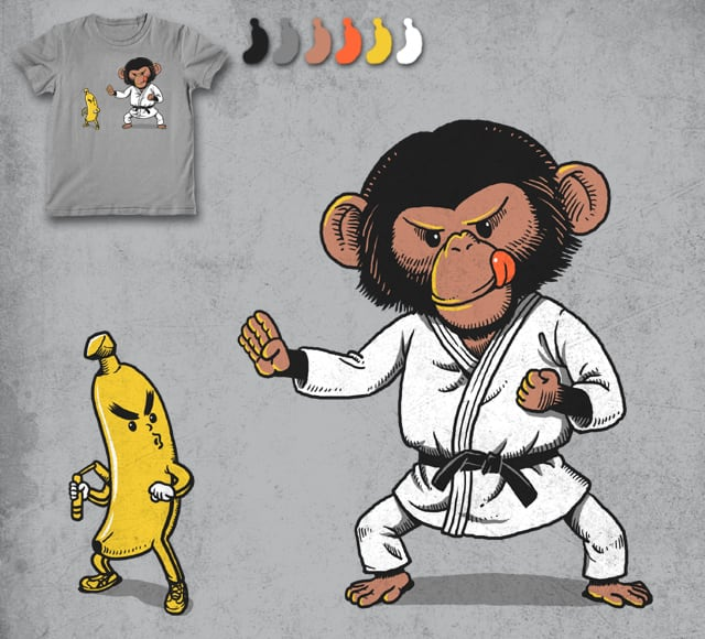 Kung Fu by ben chen on Threadless