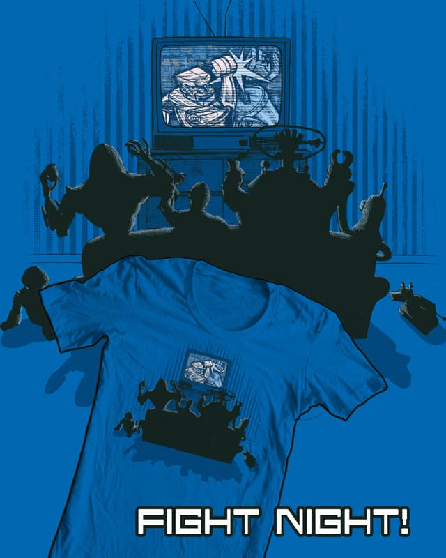 Fight Night! by robbielee on Threadless