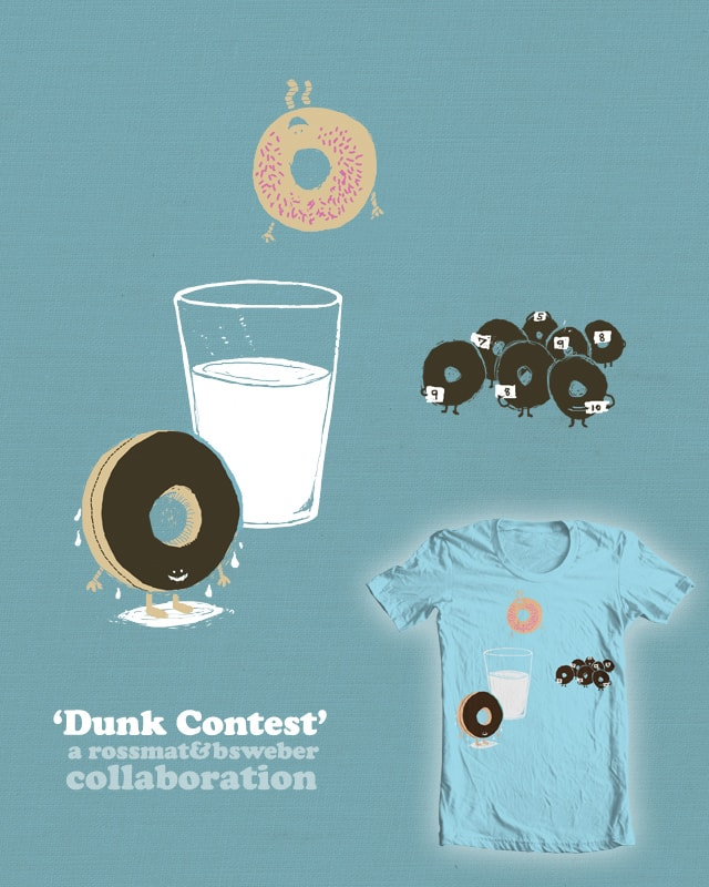 Dunk Contest by rossmat8 on Threadless