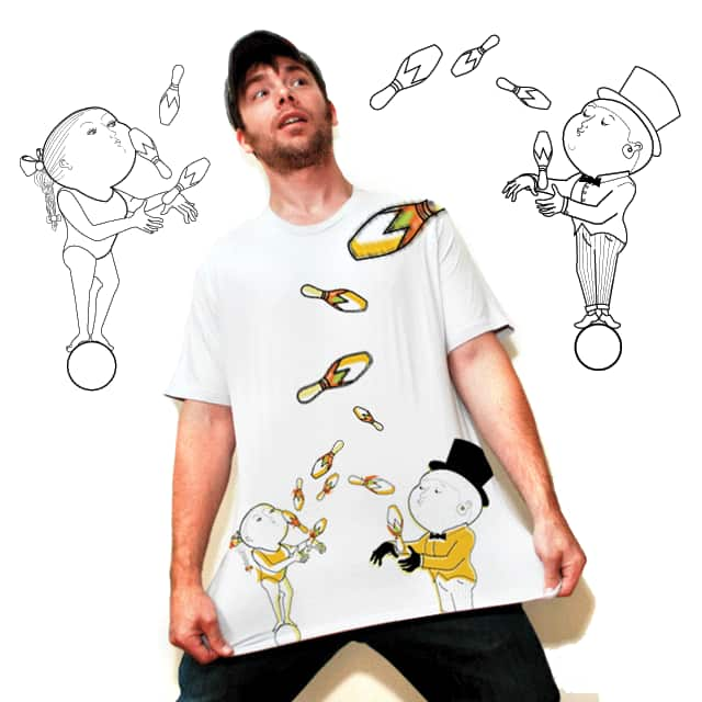 Jugg Jugg Jugglers by JomBoozle on Threadless
