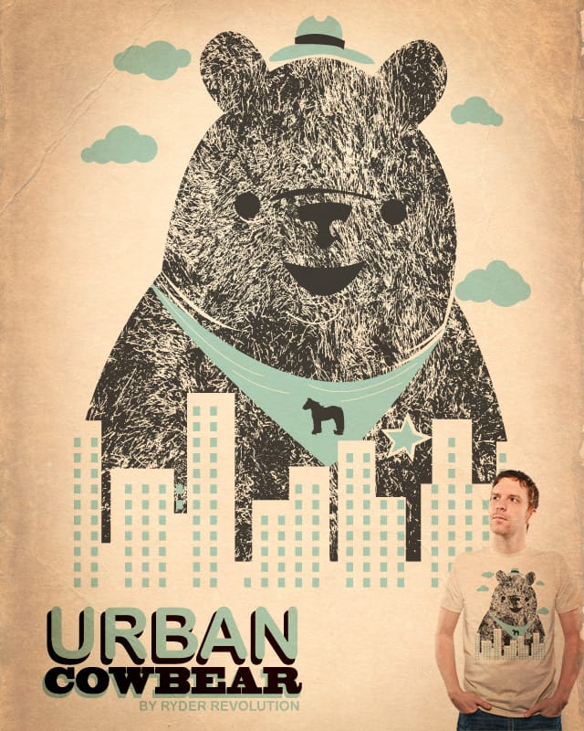 Urban Cowbear (The Giant Kind) by Ryder on Threadless