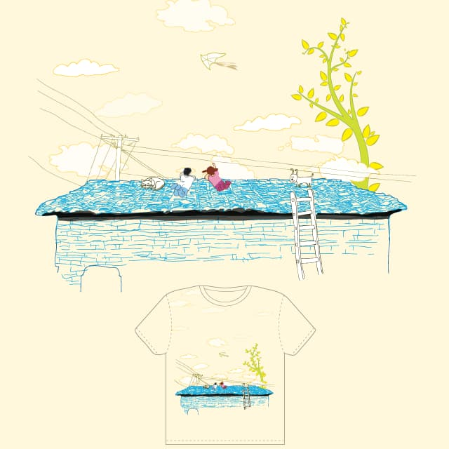 have fun on the roof top by ojacko on Threadless