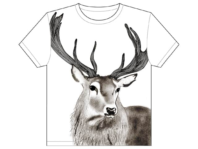 Stag by JustineLouise on Threadless