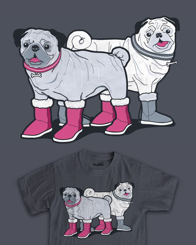Pugg Boots by davidfromdallas on Threadless