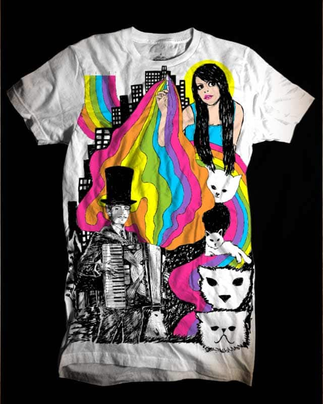 Technicolor by kooky love on Threadless