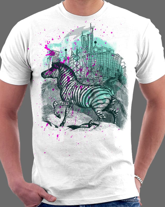 Zebras Dream of Civilization by Oiseau83 on Threadless